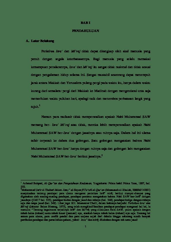 Latar Belakang Isra Mi Raj : latar, belakang, Munir, MASRI, Academia.edu