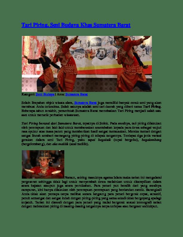 Ragam Gerak Tari Piring : ragam, gerak, piring, Piring, Rahmi, Damanik, Academia.edu