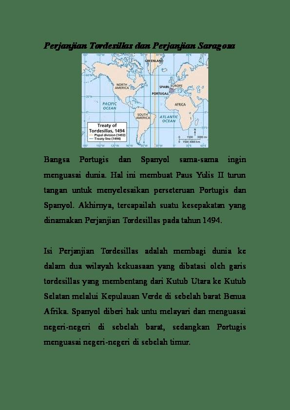 Perjanjian Saragosa: Pengertian, Sejarah, dan Dampaknya