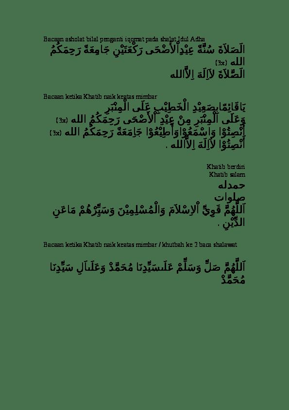 Bilal Sholat Idul Fitri : bilal, sholat, fitri, Bacaan, Bilal, Sholat, Fitri, Berbagai, Penting