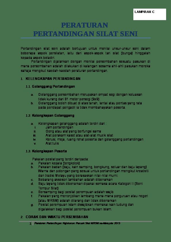 Teknik Dasar Pencak Silat: Taktik dan Strategi Menyerang