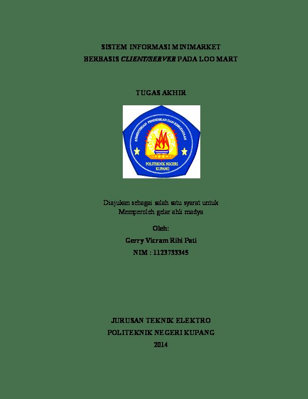 Logo Politeknik Negeri Kupang : politeknik, negeri, kupang, Politeknik, Negeri, Kupang, Teknik, Komputer, Jaringan, Academia.edu