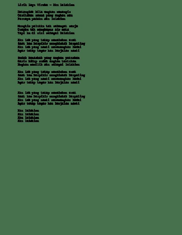 Download Lagu Virzha Aku Lelakimu : download, virzha, lelakimu, Lirik, Virzha, Lelakimu, Purnama, Academia.edu