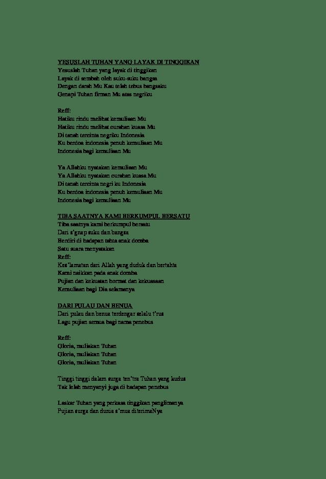 Lagu Lagu Penyembahan Gbi : penyembahan, IBADAH, NATAL, Putry, Mthyuz, Academia.edu