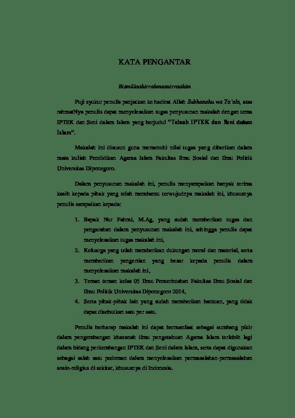 Iptek Dan Seni Dalam Islam : iptek, dalam, islam, IPTEK, Dalam, Islam, Research, Papers, Academia.edu