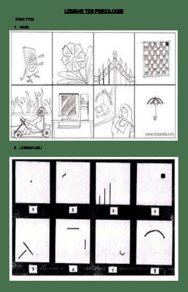 Tes Psikotes Menggambar Titik : psikotes, menggambar, titik, Psikologi, Gambar, Titik, Psikotes