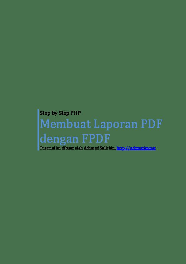 [trick] Membuat Barcode Di PDF Dengan Php Mysql Dan fpdf