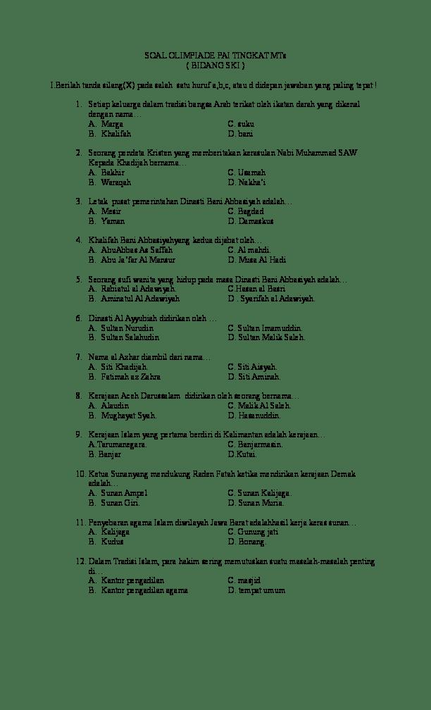Contoh Soal Masuk Al Azhar Mesir : contoh, masuk, azhar, mesir, Contoh, Masuk, Azhar, Dapatkan, Cute766