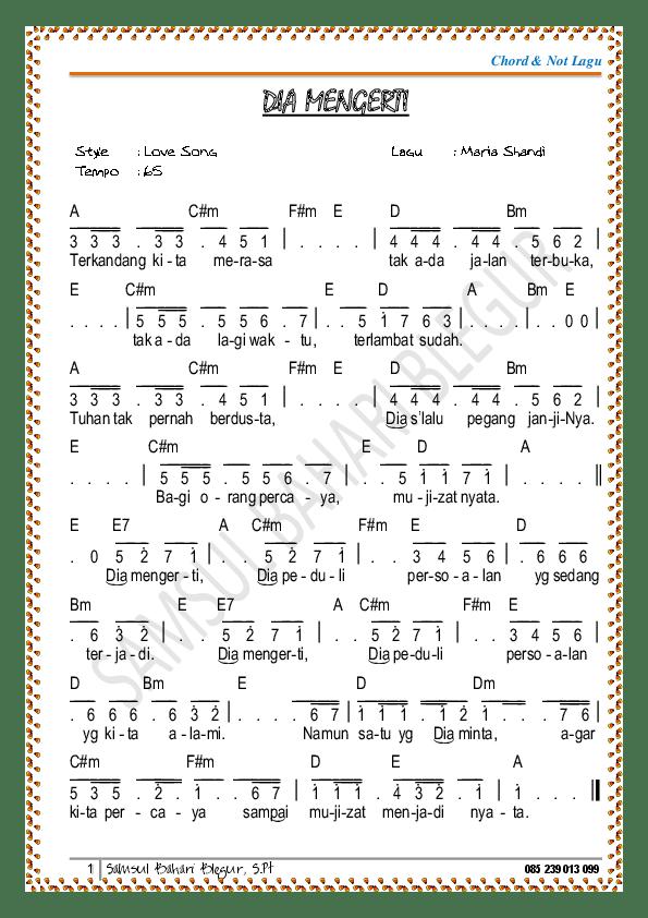 Chord Gitar Mujizat Itu Nyata : chord, gitar, mujizat, nyata, Angka, Rohani, Mujizat, Nyata, Koleksi