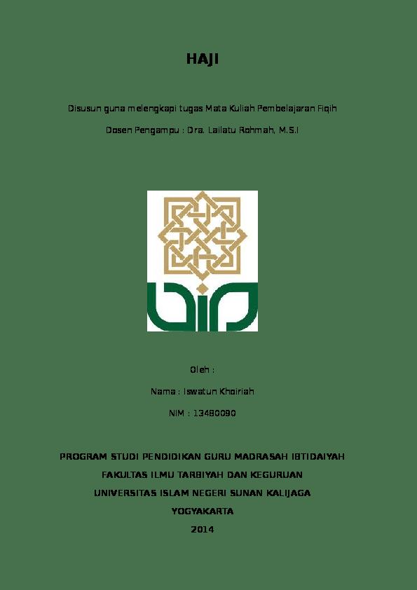 Makalah Haji Dan Umroh : makalah, umroh, Download, Makalah, Umroh