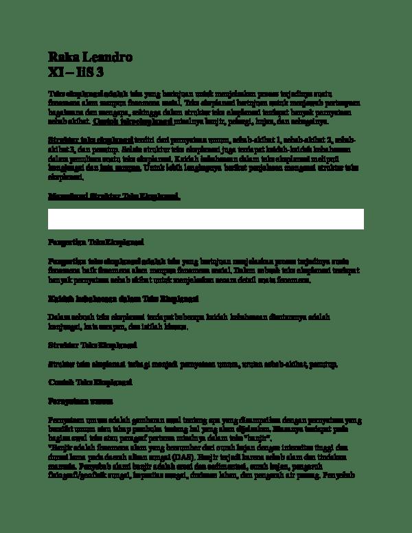 Contoh Teks Eksplanasi Fenomena Sosial : contoh, eksplanasi, fenomena, sosial, Hisyam, Wirawan, Academia.edu