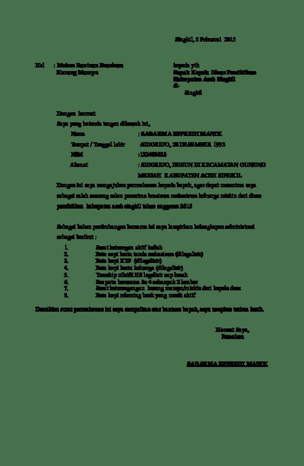 Contoh Surat Keterangan Rekening Aktif Dari Bank : contoh, surat, keterangan, rekening, aktif, Contoh, Surat, Permohonan, Keterangan, Rekening, Aktif, Cute766