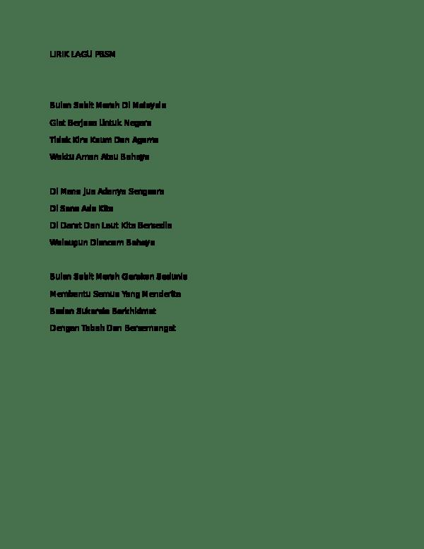 Teks Lagu Bulan Sabit : bulan, sabit, LIRIK, Farrah, Abdullah, Academia.edu