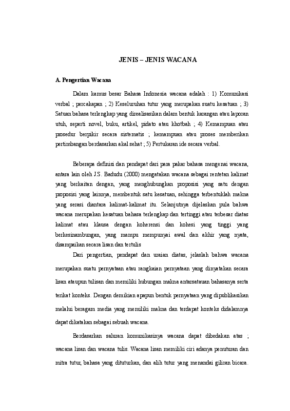 Pengertian Wacana Persuasi : pengertian, wacana, persuasi, JENIS, Wacana, Putri, Mardhatillah, Academia.edu