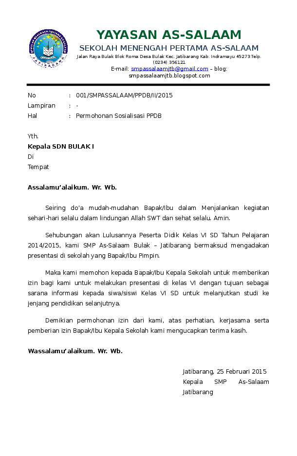 Surat Permohonan Sosialisasi : surat, permohonan, sosialisasi, Contoh, Surat, Permohonan, Sosialisasi