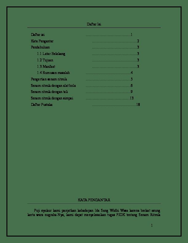 Makalah Tentang Senam Ritmik : makalah, tentang, senam, ritmik, Makalah, Senam, Ritmik, Vivin, Kristina, Academia.edu