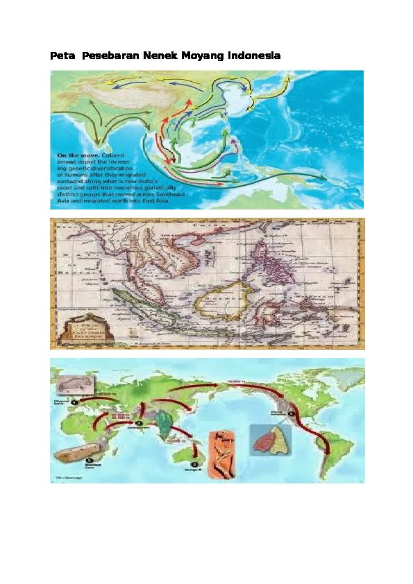 Peta Persebaran Nenek Moyang Bangsa Indonesia : persebaran, nenek, moyang, bangsa, indonesia, Bahan, Presentasi, Fanny, Oktivia, Academia.edu