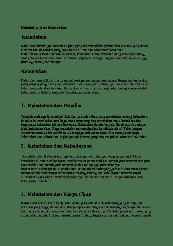 Pengertian Indah : pengertian, indah, KEINDAHAN, KEBURUKAN, Payung, Academia.edu