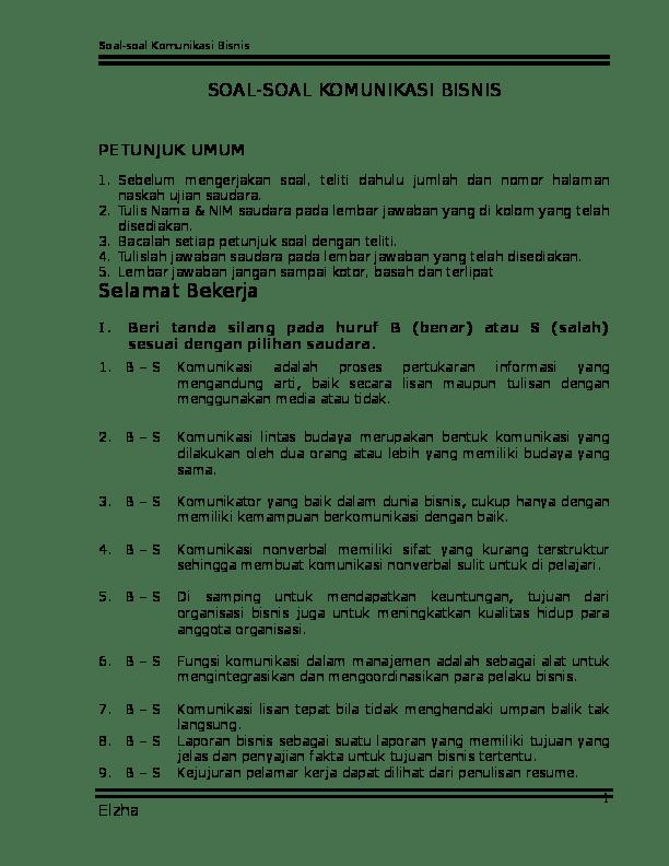 Contoh Soal Lomba Cerdas Cermat Kelas 4 Sd
