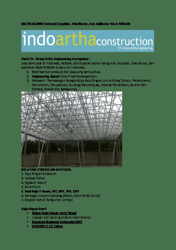 baja ringan pdf rangka atap galvalum jember depo