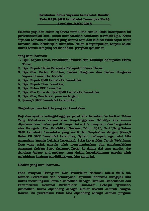 Sambutan Kepala Sekolah Dalam Acara Perpisahan : sambutan, kepala, sekolah, dalam, acara, perpisahan, Contoh, Sambutan, Kepala, Sekolah, Dalam, Acara, Perpisahan, Kelas, Dapatkan