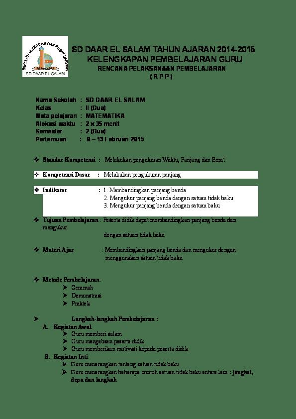 Rpp Kelas 1 K13 : kelas, Marido, Putirulan, Academia.edu