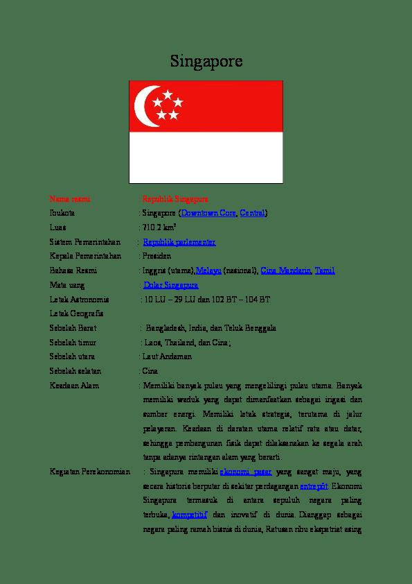 Bahasa Resmi Singapura : bahasa, resmi, singapura, PROFIL, NEGARA, SINGAPURA, RAISA, NADYA, Barabai, Academia.edu