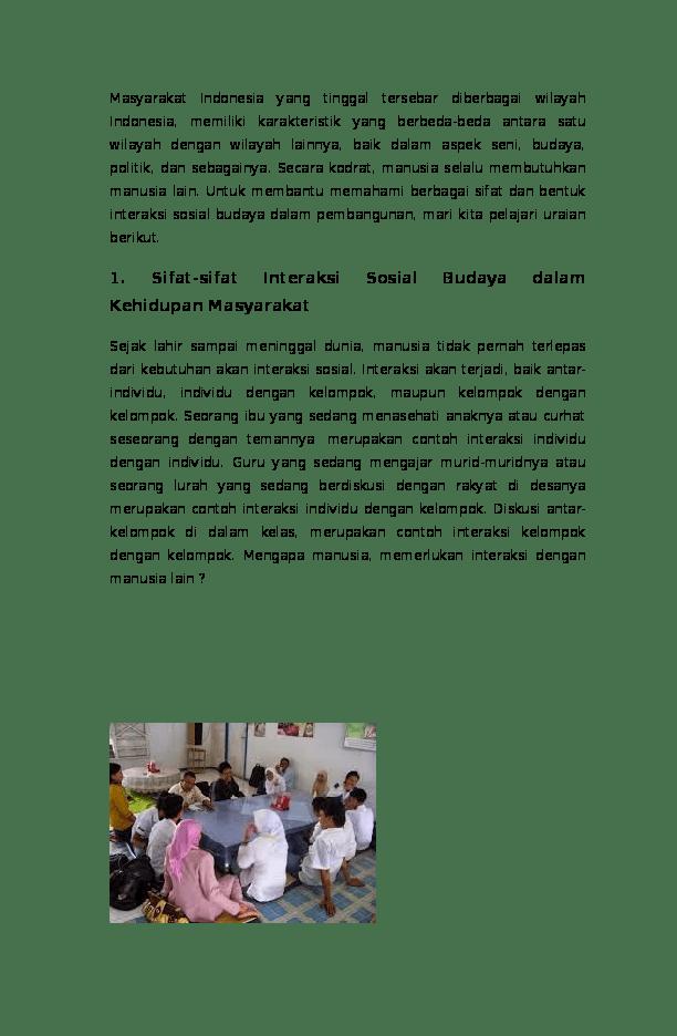 Contoh Proses Sosial Disosiatif : contoh, proses, sosial, disosiatif, Kliping, Interaksi, Sosial, Mustaqim, As-salim, Academia.edu