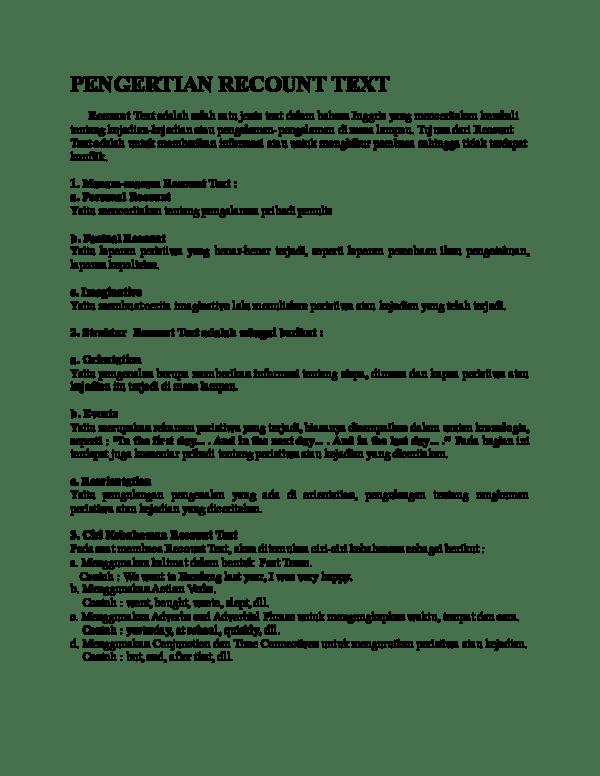 Pengertian Recount : pengertian, recount, Pengertian, Recount, Putro, Academia.edu