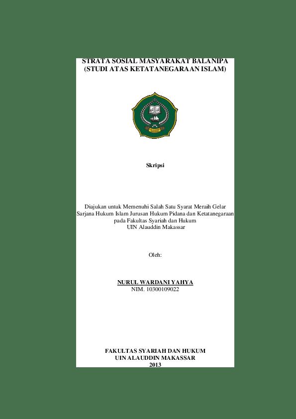 Contoh Judul Skripsi Hukum Tata Negara Islam Ide Judul Skripsi Universitas Cute766