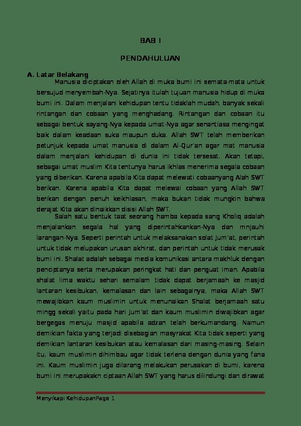Kandungan Surah Al Jumu Ah Ayat 9 10 : kandungan, surah, Menyikapi, Kehidupan, Menurut, Al-Qur'an, Surat, Jumu'ah, Qashas, (Tafsir), Laras, Hanifah, Academia.edu