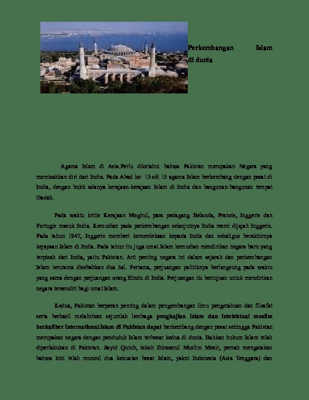 Perkembangan Islam Di Sudan : perkembangan, islam, sudan, Perkembangan, Islam, Dunia, Defra, Darman, Academia.edu