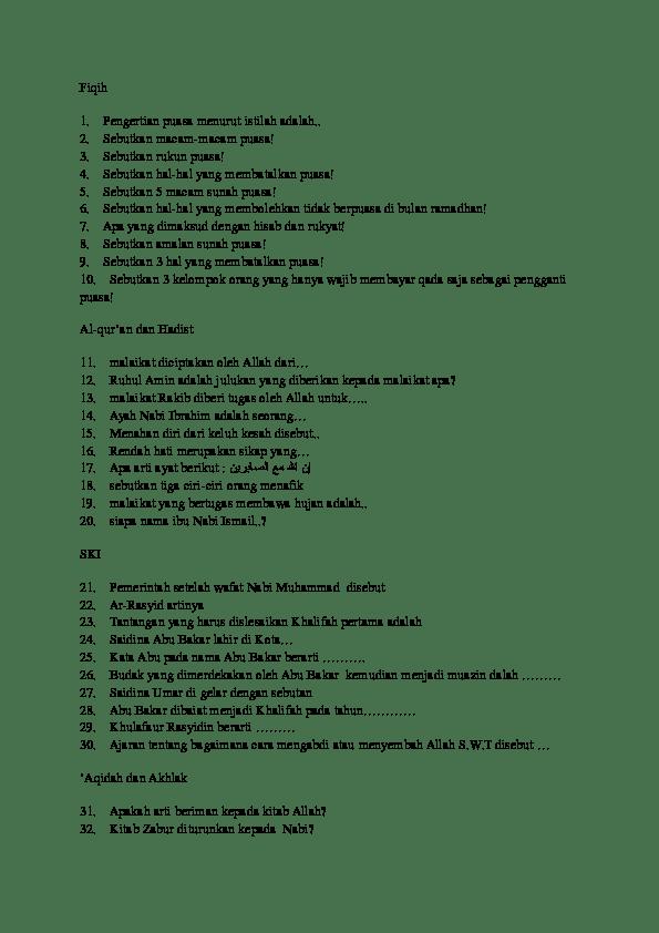 Sebutkan 10 Malaikat Beserta Tugasnya : sebutkan, malaikat, beserta, tugasnya, Hafisa, Hasna, Academia.edu