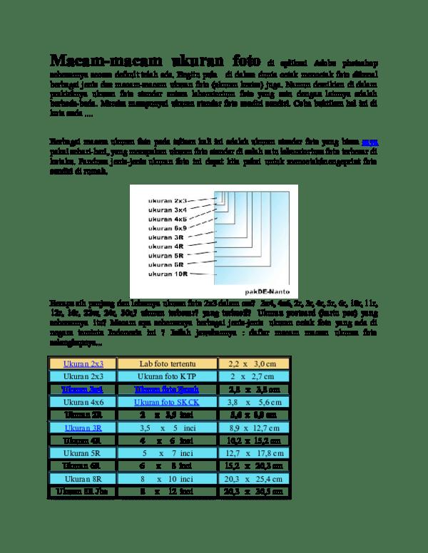 Ukuran 3x4 Dalam Inci : ukuran, dalam, Ukuran, Berapa, Kumpulan, Materi, Pelajaran, Contoh