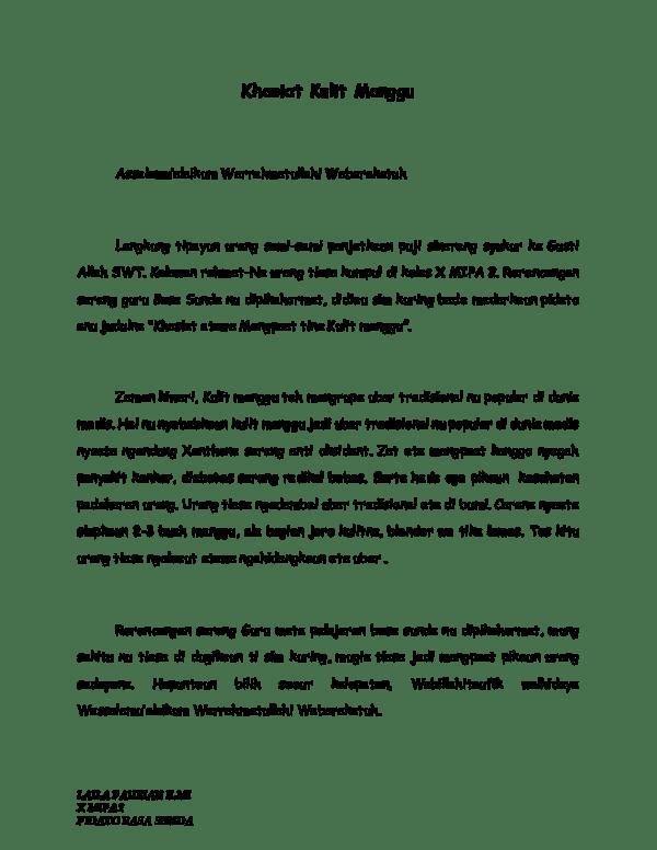 Naskah Pidato Bahasa Sunda : naskah, pidato, bahasa, sunda, Contoh, Pidato, Bahasa, Sunda, Singkat