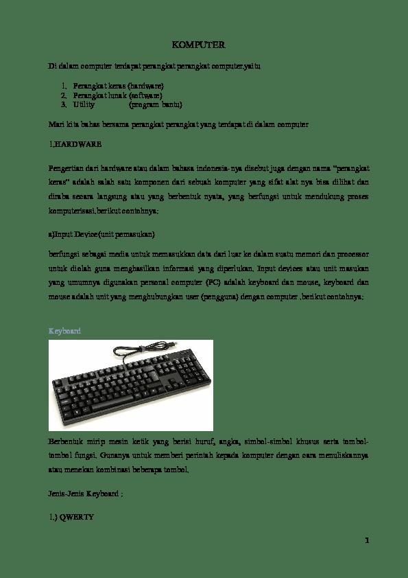 Sebutkan Perangkat-perangkat Komputer : sebutkan, perangkat-perangkat, komputer, Perangkat, Komputer, Disebut, Mikroprosesor, Adalah, Sebutkan