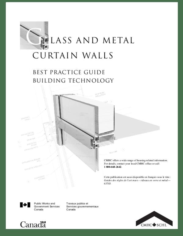 pdf glass and metal curtain walls
