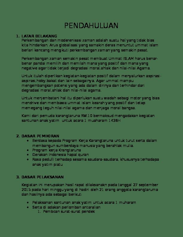 Proposal Santunan Anak Yatim : proposal, santunan, yatim, Proposal, Santunan, Yatim, Septian, Minoru, Academia.edu