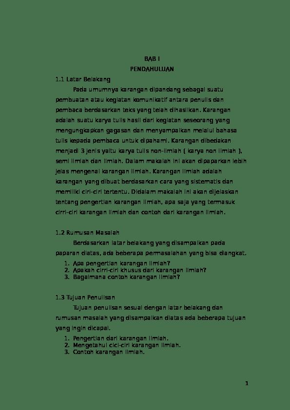 Contoh Kerangka Ilmiah : contoh, kerangka, ilmiah, Karangan, Ilmiah, Nurfitri, Rahma, Academia.edu