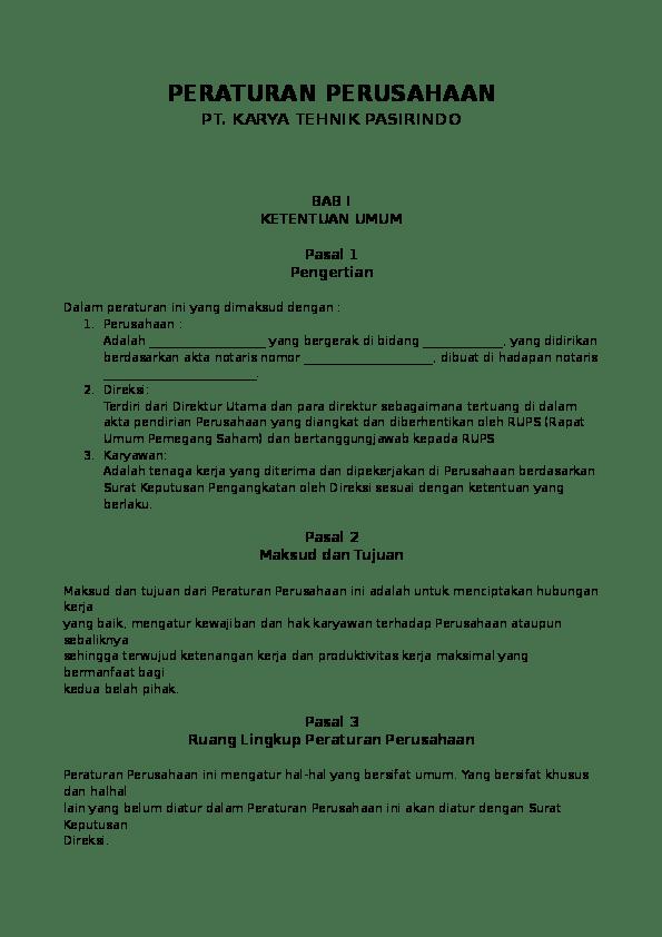 Contoh Surat Keterangan Pensiun Karyawan Swasta Mosaicone