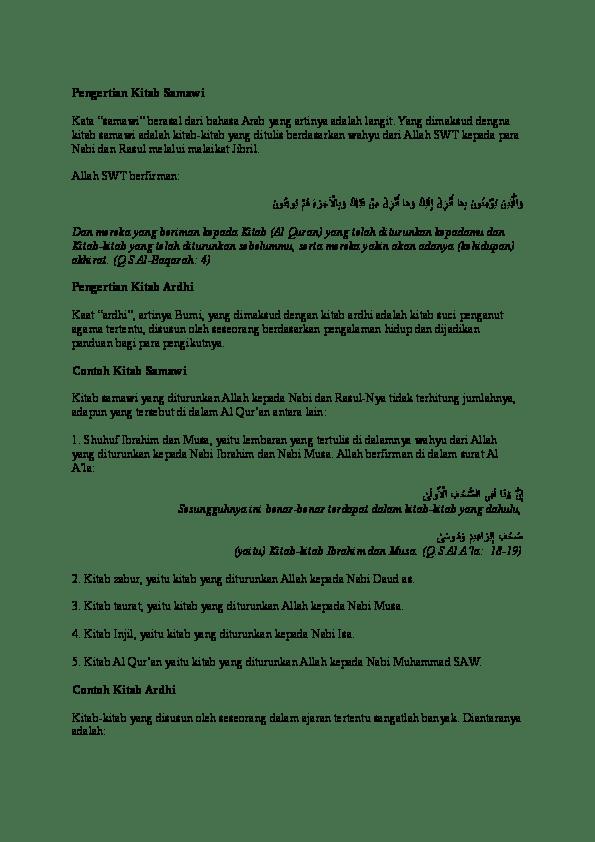 Isi Kitab Taurat Zabur Injil Al Quran : kitab, taurat, zabur, injil, quran, Perbedaan, Kitab, Taurat, Zabur, Injil, Alquran, Membedakan
