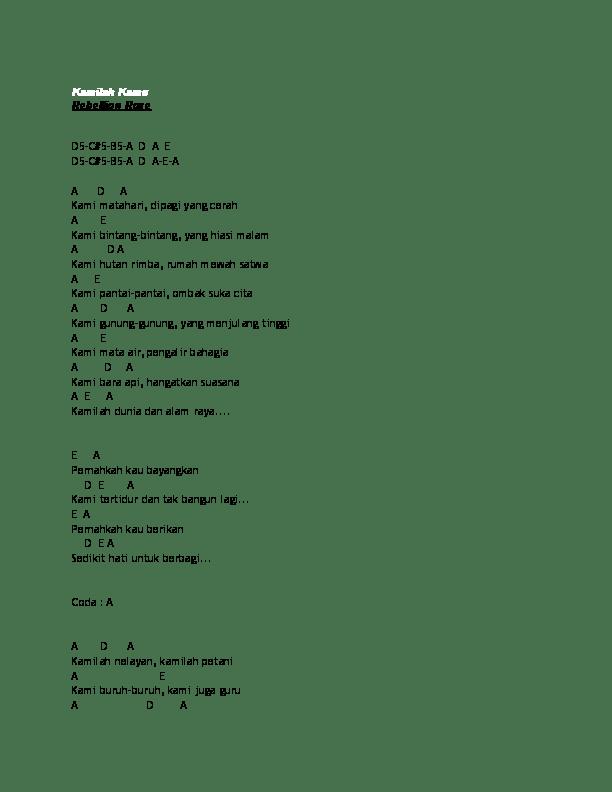 Chord Puisi Alam : chord, puisi, Chord, Puisi, Koleksi