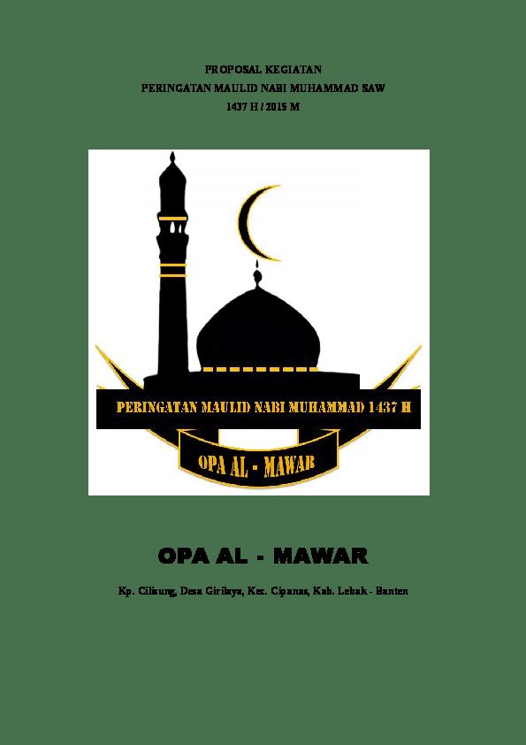 Spanduk Maulid Nabi Saw 2018 : spanduk, maulid, Download, Koleksi, Background, Islami, Maulid, Terbaik