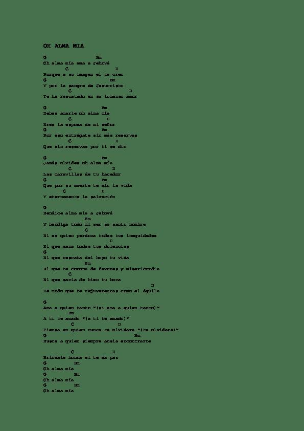 Que Lloro Acordes : lloro, acordes, ACORDES, CRISTIANOS, Losada, Academia.edu