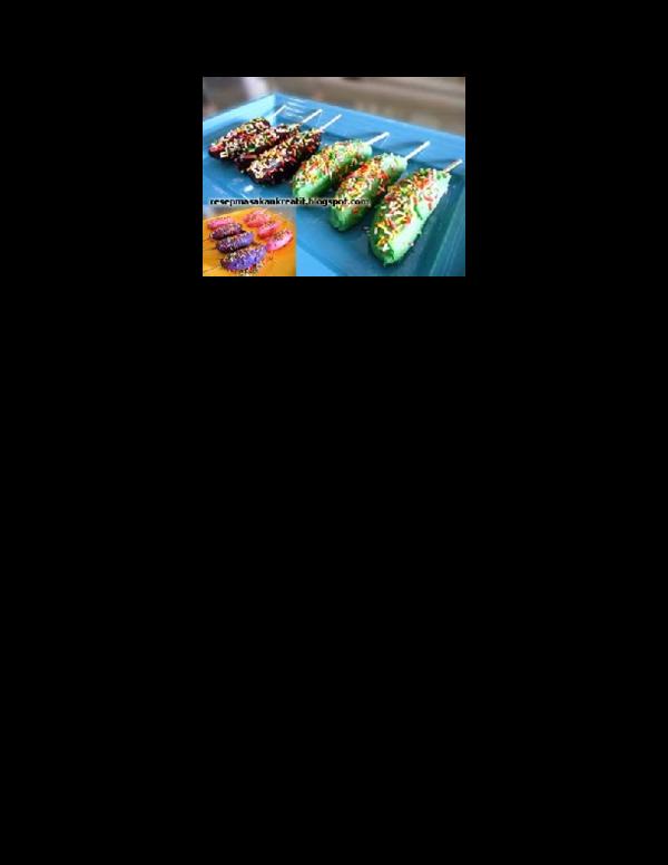 Cara Membuat Es Pisang Coklat Bubuk : membuat, pisang, coklat, bubuk, RESEP, PISANG, COKLAT, Maman, Dudung, Academia.edu