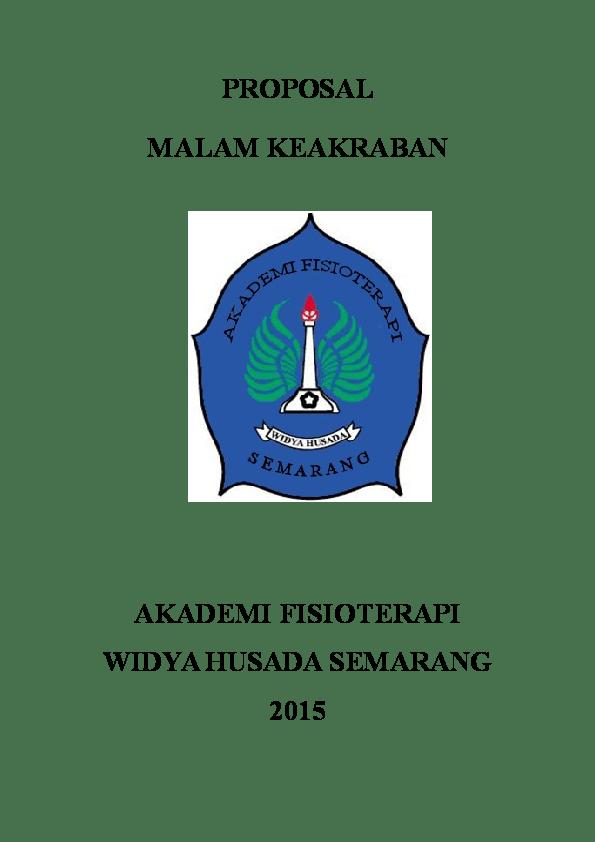 Proposal Makrab Himpunan Mahasiswa Teknik Arsitektur