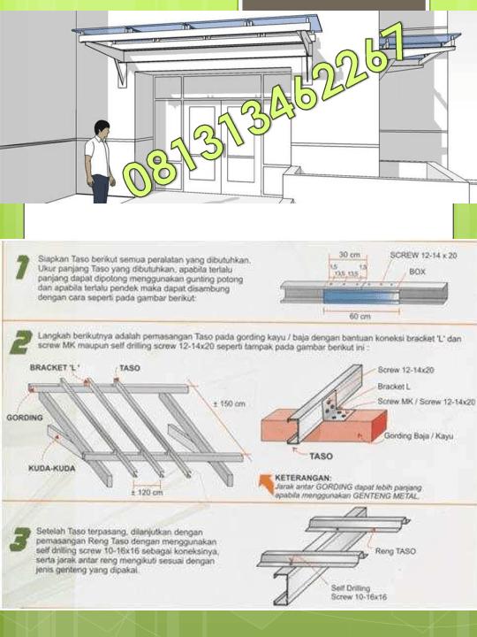 tukang baja ringan bekasi pdf 081313462267