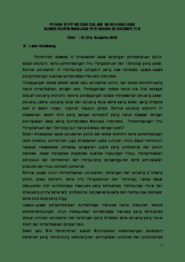 Contoh Makalah Lelang Jabatan Eselon 2 Kumpulan Contoh Makalah Doc Lengkap Cute766