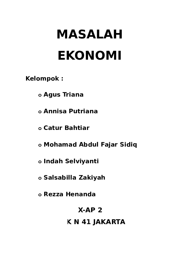 Contoh Masalah Ekonomi Dalam Kehidupan Sehari Hari : contoh, masalah, ekonomi, dalam, kehidupan, sehari, Contoh, Masalah, Ekonomi, Klasik, Dalam, Kehidupan, Sehari, Bagikan