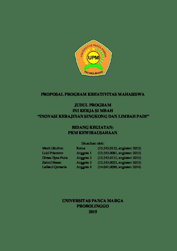 Proposal Kewirausahaan Kerajinan Tangan : proposal, kewirausahaan, kerajinan, tangan, Contoh, Proposal, Kewirausahaan, Kerajinan, Tangan, Berbagi, Cute766